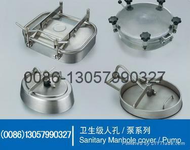 stainless steel manhole an pump 5