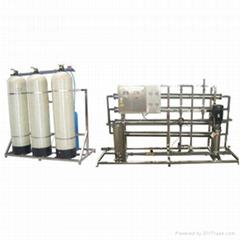 2吨/小时单级反渗透纯水机