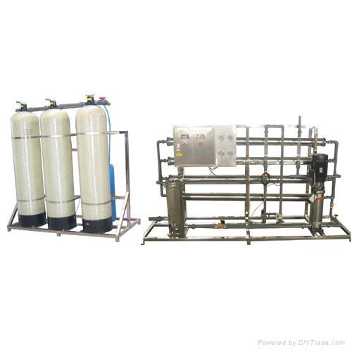 2吨/小时单级反渗透纯水机 3