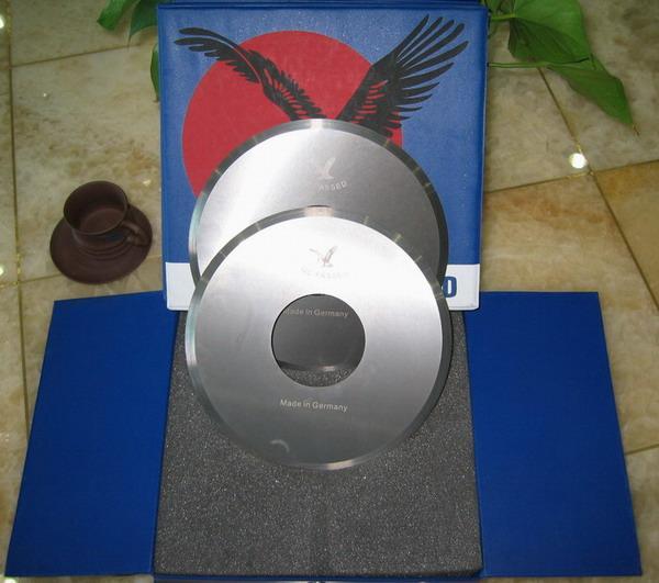 供應盧森堡原裝鷹牌切腳機刀片(剪腳刀片,鎢鋼刀片),磨刀碗 2