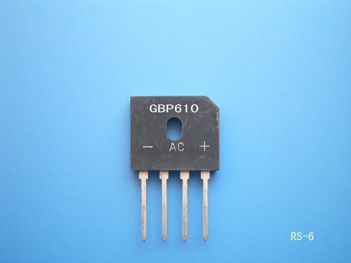 桥堆GBP610  3