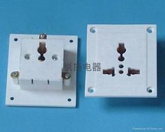 三孔工裝板插座