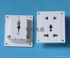 二三孔工裝板插座
