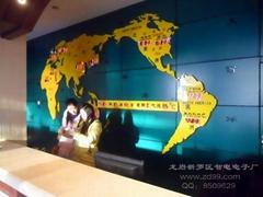 世界地圖鐘
