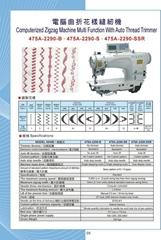 475A-2290 電腦曲折縫花樣機