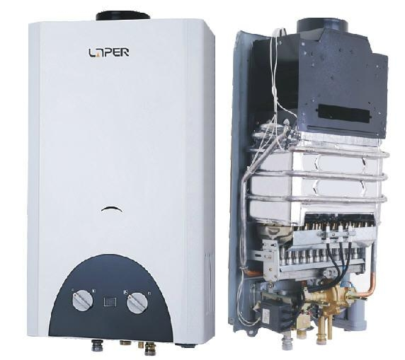 Natural Flue Gas water heater 10L 1