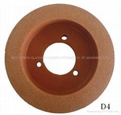 Rubber polishing wheel(9R80 polishing wheel)