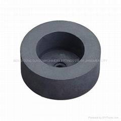 國產100大倒角黑色石頭輪