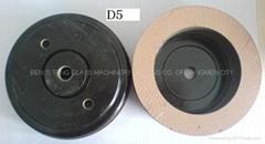 Glass polishing wheel