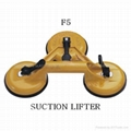 Glass suction lifter