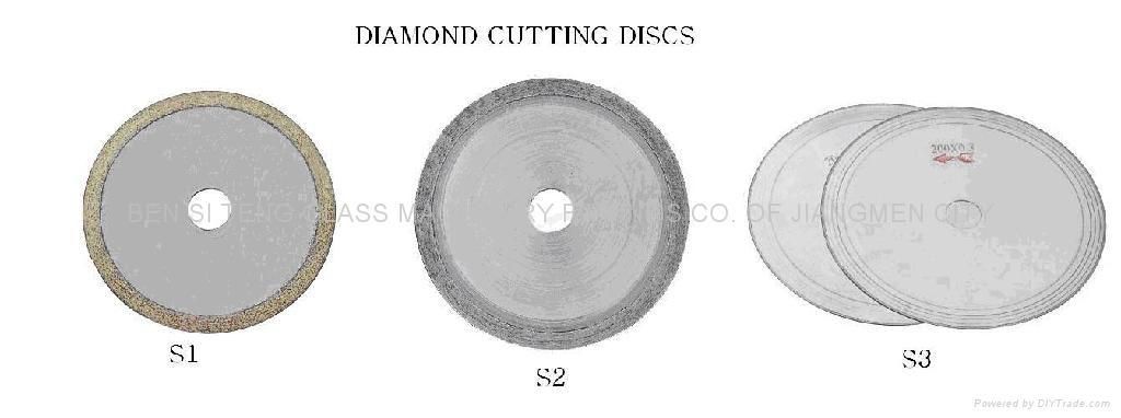 Diamond cutting disc 1