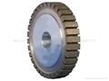 flat segmented wheel