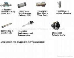 ACCESSORY FOR WATERJECT CUTTING MACHINE