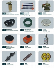 Glass machine accessories