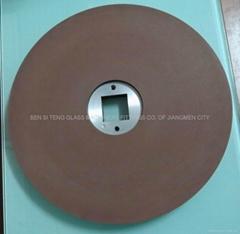 Grinding disc for crystal glass polishing