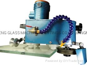 手提玻璃磨邊機 小型玻璃磨邊機石材魚缸磨邊機 磨直邊圓邊 6