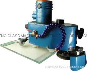 手提玻璃磨边机 小型玻璃磨边机石材鱼缸磨边机 磨直边圆边 3