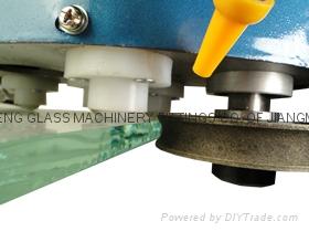 手提玻璃磨边机 小型玻璃磨边机石材鱼缸磨边机 磨直边圆边 4