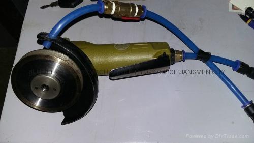 Pneumatic portable glass edging machine 2