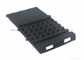 Glass machine spare part rubber cover plate for Bottero machine