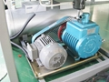 Vacuum pump for glass laminated furnace machine