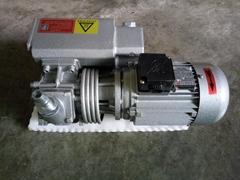 Vacuum pump for glass te