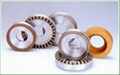 Glass grinding edge diamond grinding wheels for bruting