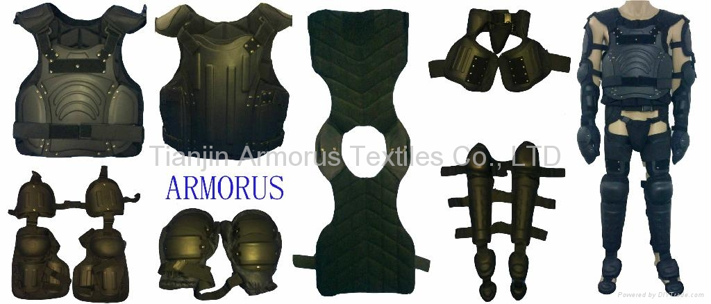 Police anti-riot control suit body protector
