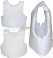 Concealable bulletproof vest body armor