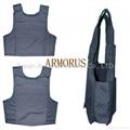 basic bulletproof body armor vest