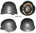 Steel bulletproof helmet