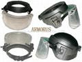 Bulletproof face shield / visor