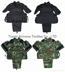 Advanced military full-coverage bulletproof vest (Hot Product - 1*)