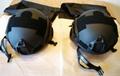 Advanced composite-material bulletproof helmet