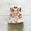 Zara同款女童兔毛馬甲 3