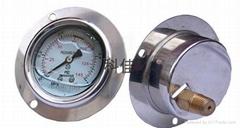 軸向偏心充油耐震壓力表