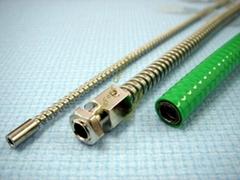 不鏽鋼單扣穿線管  抗拉抗扭 永不脫扣
