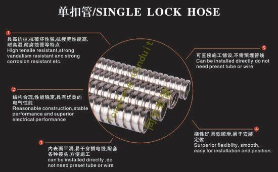Pliable and non-Stretch Flexible Metal Conduit  3