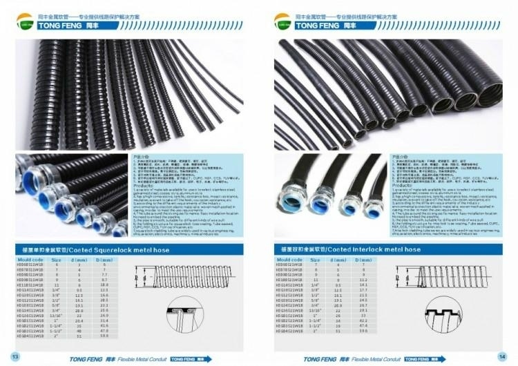 PVC Coated Flexible Metal Conduit Album