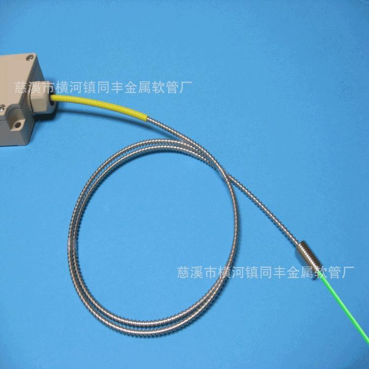 外徑5mm單扣不鏽鋼軟管 不鏽鋼穿線軟管 1