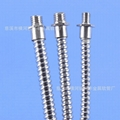 外徑5mm單扣不鏽鋼軟管 不鏽鋼穿線軟管 5