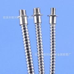 "3/16"" SquareLock Stainless Steel Flexible Conduit"