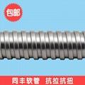 高抗壓力電纜金屬軟管 永不脫扣電線保護軟管 3