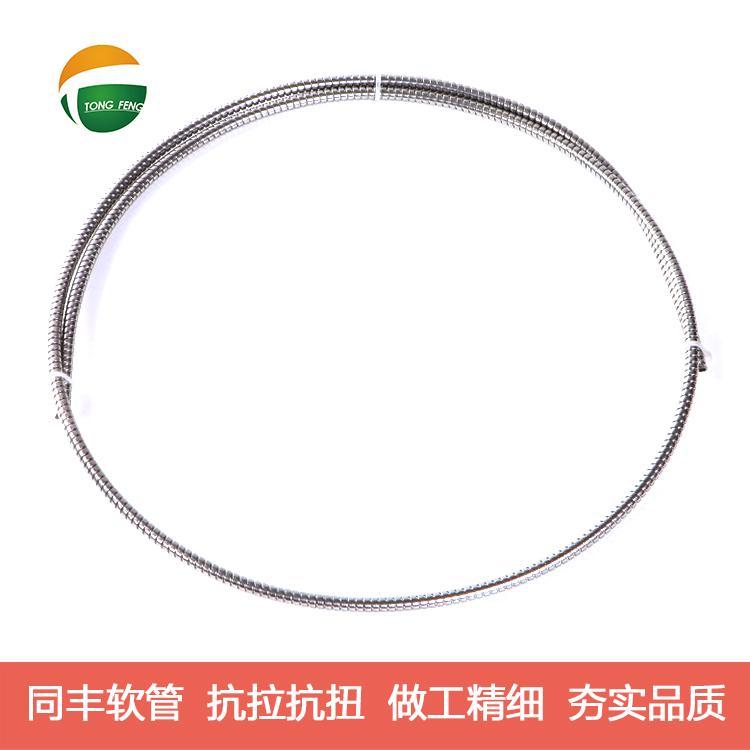 單扣不鏽鋼軟管技術參數 8