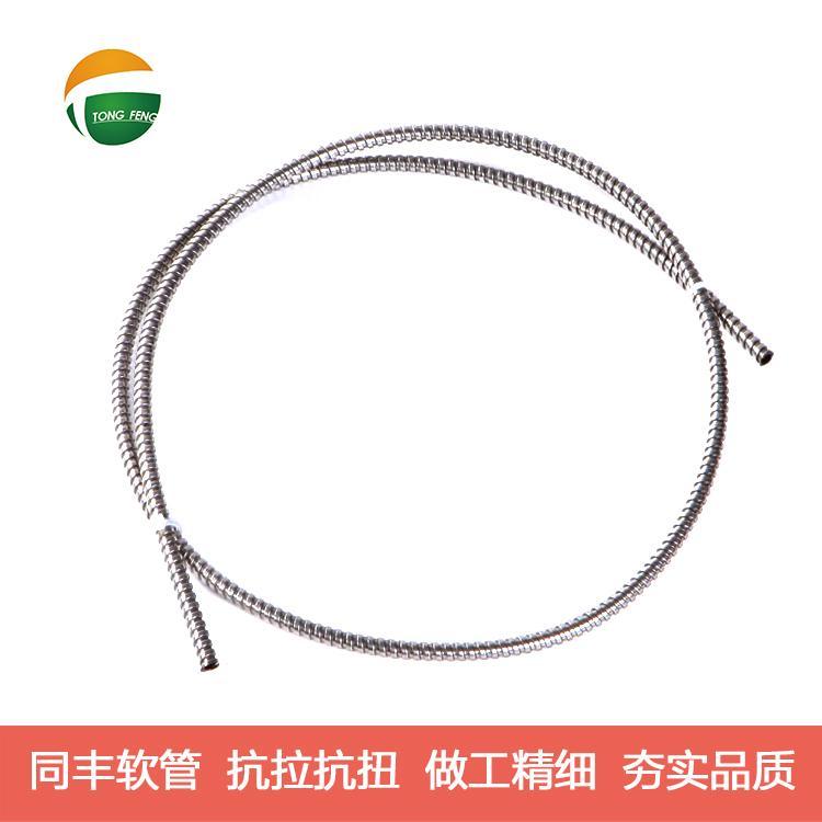 單扣不鏽鋼軟管技術參數 9