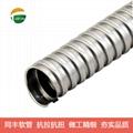 單扣不鏽鋼軟管技術參數 11