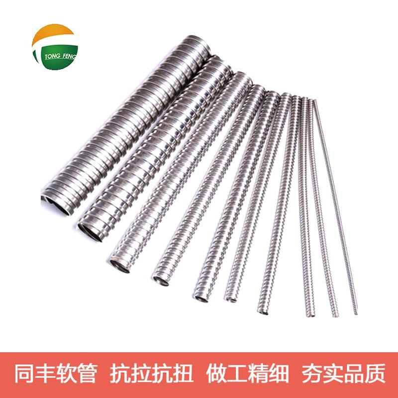 單扣不鏽鋼軟管技術參數 19