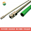 Flexible stainless steel tubes for protection sensitive Laser Fiber Optic cables 12
