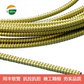 Flexible stainless steel tubes for protection sensitive Laser Fiber Optic cables
