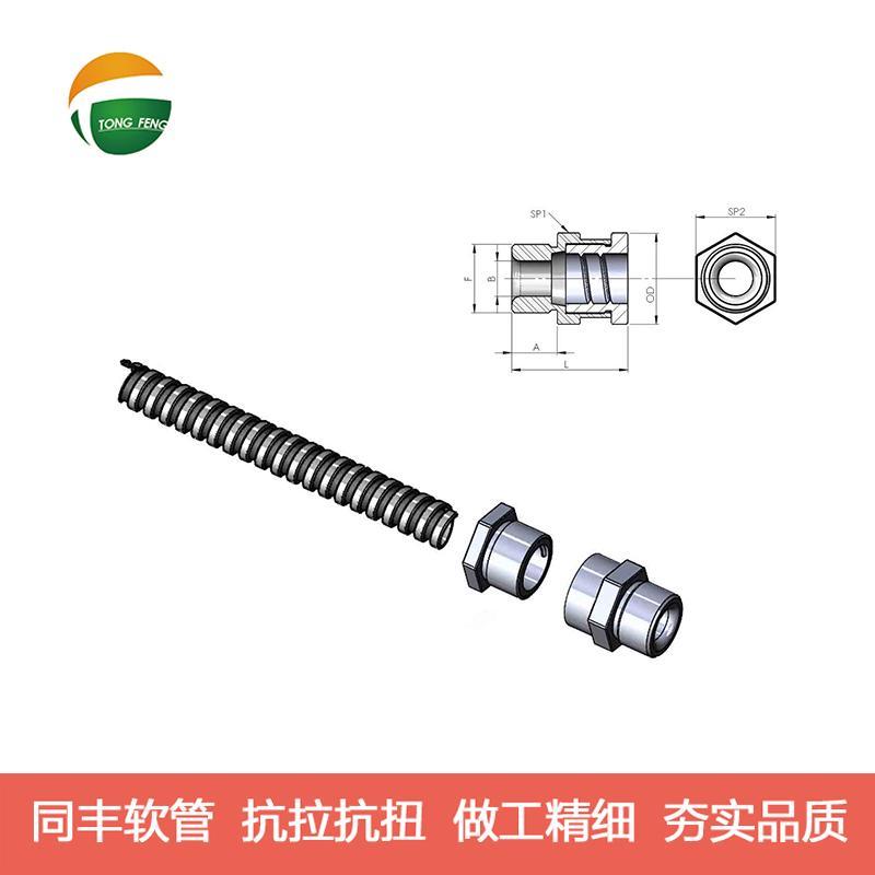 光纤传感器接头 不锈钢软管接头 16